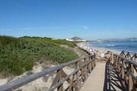 Playa de Capellans auf Mallorca wieder freigegeben
