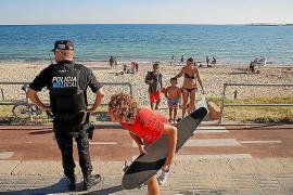 Teile der Playa de Palma und andere Strände sollen womöglich nachts geschlossen werden