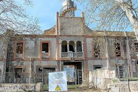 Ex-Teppichfabrik auf Mallorca vor der Runderneuerung