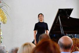 Pianistin Kewen Wang zu Gast in Can Brut auf Mallorca