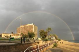 Stürmisches Wetter hält auf Mallorca bis Mittwoch an
