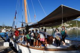 "Historischer Segler ""Balear"" macht Fahrten ab Port d'Andratx"