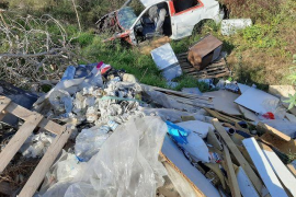 "Anwohner in Sorge wegen zugemülltem ""Torrent"" in Palma de Mallorca"