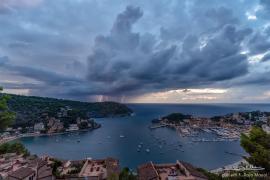 Spektakuläres Foto vom Unwetter auf Mallorca