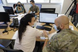 Militärs forcieren Suche von Corona-Kontakten auf Mallorca
