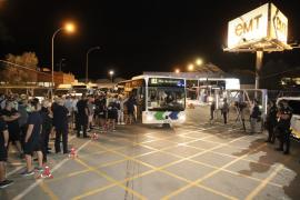 Busfahrer in Palma de Mallorca treten in unbefristeten Streik