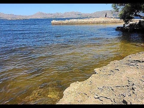 Strand auf Mallorca wegen Wasserverschmutzung gesperrt
