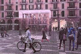 Tageslicht soll in neue Galerien unter der Plaça Major von Palma dringen