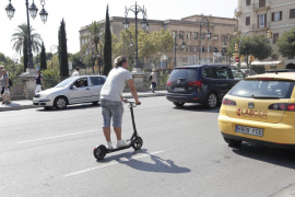 Polizei geht verstärkt gegen E-Scooter-Fahrer in Palma vor