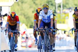 Radsport-Fans auf Mallorca drücken Enric Mas die Daumen