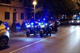 Polizei rückt mit Großaufgebot in weitere abgeriegelte Viertel von Palma ein