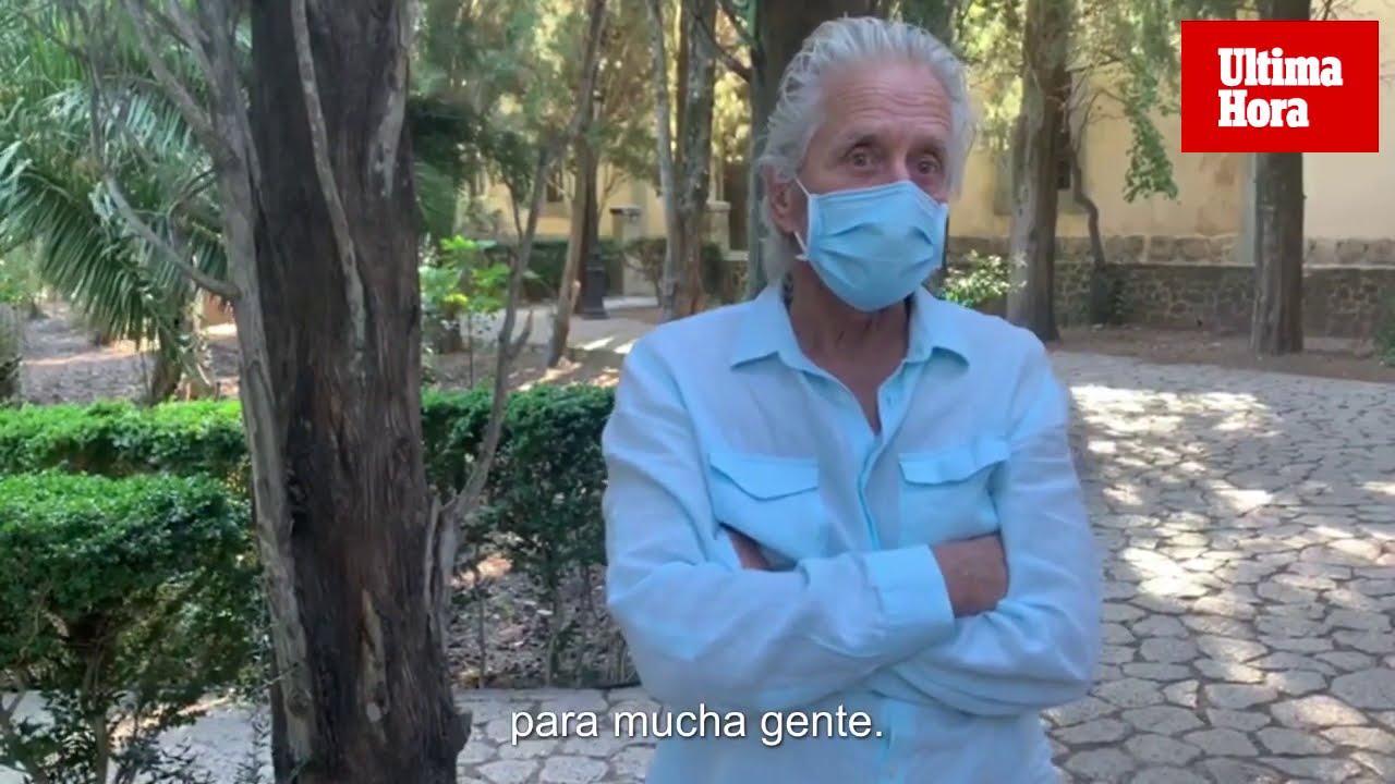 Michael Douglas gewährt Exklusiv-Interview auf Mallorca