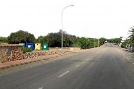 Letztes Teilstück von Radweg von Santanyí nach Felanitx wird gebaut
