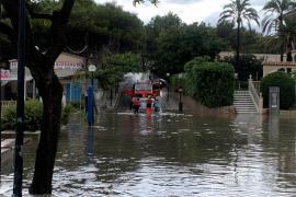 Überschwemmungen nach heftigen Regenfällen auf Mallorca