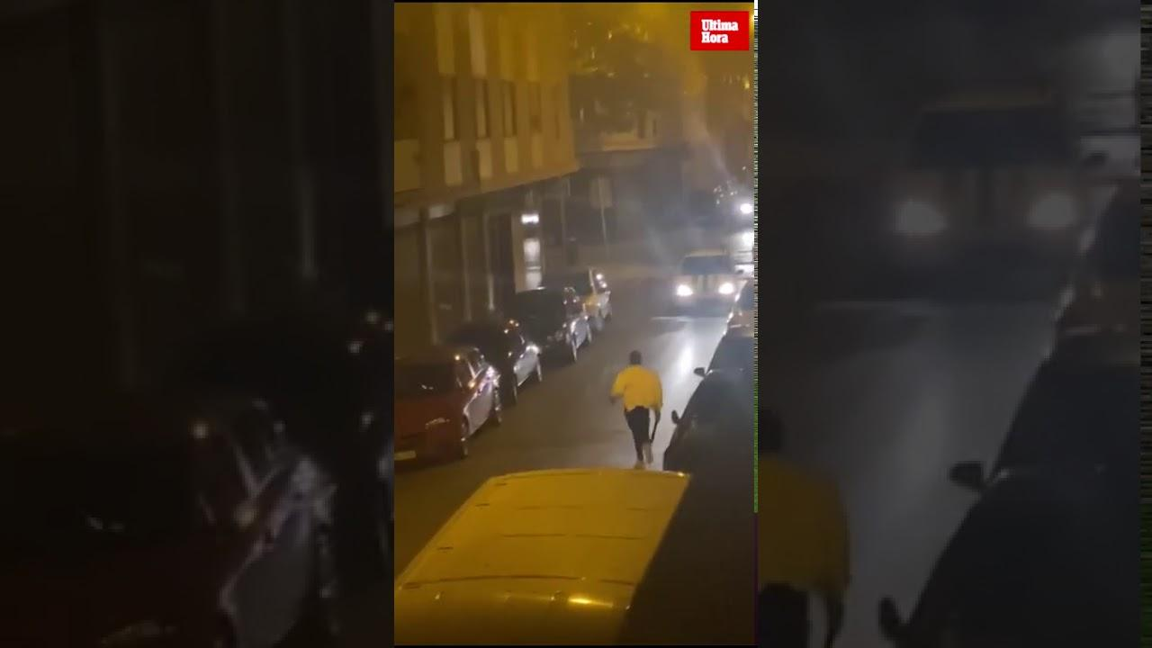 Männer liefern sich Machetenkampf auf offener Straße in Palma
