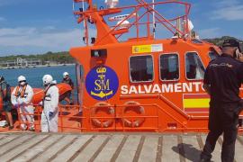 Mann von havariertem Boot vor Port d'Andratx mit Helikopter gerettet