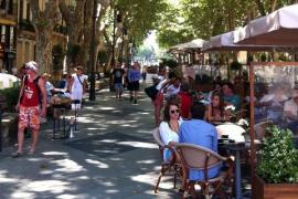 Palma de Mallorca unter neuen Lockdown-Grenzwerten