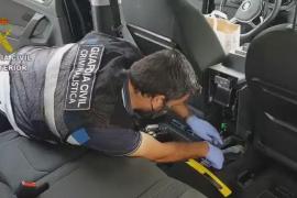 Belgier beim Ausladen von 14 Kilo Kokain auf Mallorca festgenommen