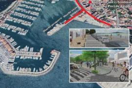 In Zukunft mehr Platz zum Flanieren an Alcúdias Hafenpromenade