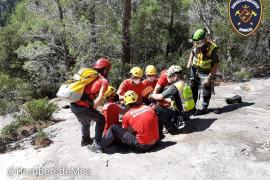 Kletterer stürzt an der Alaró-Burg auf Mallorca 15 Meter tief