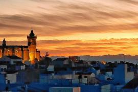 Mallorca von Menorca aus am Montag klar zu erkennen