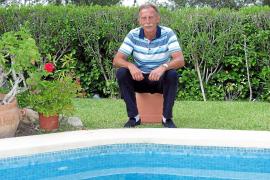 Am eigenen Pool in Santa Ponça fühlt sich Christoph Daum wohl. In diesem Jahr war er allerdings noch nicht auf der Insel.