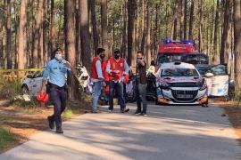 Beifahrerin von Mallorca-Rallye-Pilot stirbt bei schwerem Renn-Unfall