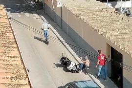 E-Scooter-Fahrer schlägt auf Mallorca Motorradnutzer zusammen