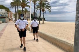 Lokalpolizei von Calvià geht härter gegen Maskensünder in Autos vor