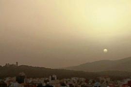 Wind und Saharastaub trüben Sicht auf Mallorca ein