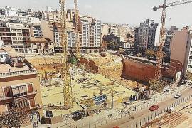 Ein Blick auf die Baustelle vor 25 Jahren.