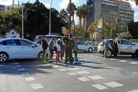 Frau auf E-Roller bei Unfall in Palma schwer verletzt