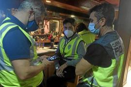 Drogenparty im Industriegebiet von Palma de Mallorca aufgedeckt