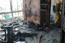 Wohnung in Palma völlig ausgebrannt - Katze tot