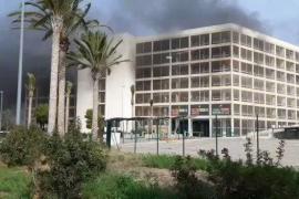 Brand im Parkhaus am Flughafen von Palma de Mallorca