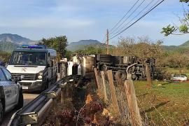 Lkw-Fahrer stirbt bei schwerem Unfall auf Mallorca