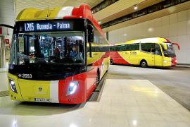 Neue mit Biogas betriebene Busse auf Mallorca