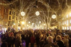 Anschalt-Aktion für Weihnachtslichter in Palma läuft geheim ab