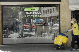 Immer mehr Läden in Palma de Mallorca gehen wegen Corona ein