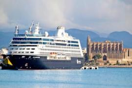 Gegner von Mega-Kreuzfahrtschiffen auf Mallorca vereinen sich