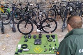 Dieb stiehlt auf Mallorca Räder im Wert von 85.000 Euro