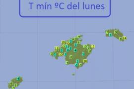Bislang kälteste Nacht dieses Herbstes auf Mallorca registriert