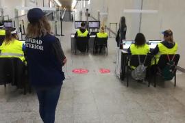 18 Einreisende am Montag ohne PCR-Test im Flughafen von Mallorca