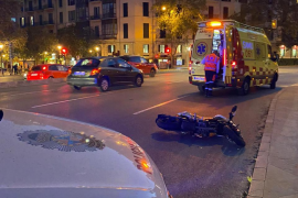 Zwei schwere E-Scooter-Unfälle an einem Tag in Palma