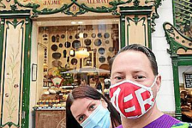 Ein Besuch in Palmas Altstadt stand natürlich auch auf dem Programm.