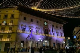 Der Rathausplatz Plaça Cort.