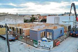 In Palma entsteht das erste Mehrfamilienhaus aus Holz