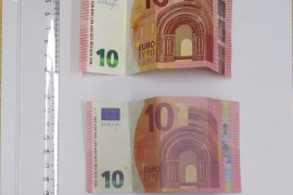 Falschgeld in Selva im Norden von Mallorca entdeckt