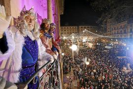 Heilige Drei Könige auf Mallorca ohne Publikum