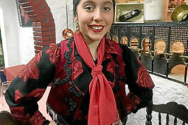 Claudia Calle tanzt Flamenco seit sie vier Jahre alt ist.